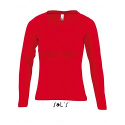 on sale 6706b eaab8 Frauen Langarmshirt rot